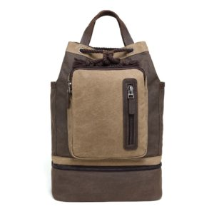 Multifunctional Waxed Canvas Backpack MF 561W