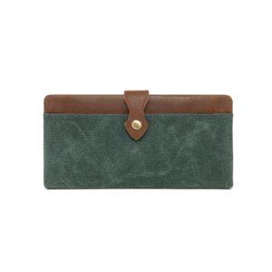 Waxed Canvas Wallet W3009